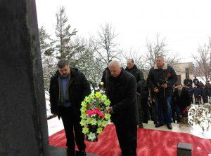 Miting de comemorare a celor căzuți în războiul din Afganistan