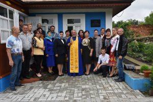 Sfințirea casei-muzeu a lui Dumitru Matcovschi,Vadul-Rașcov