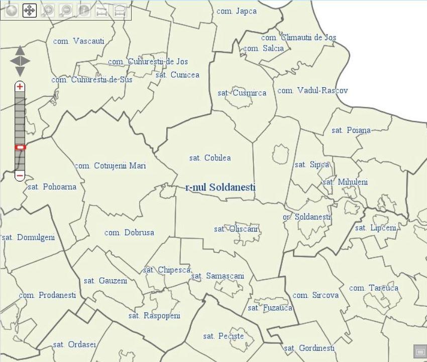 Asezarea Geografică Consiliul Raional șoldănești