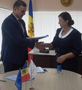 """Semnarea contractului de  achiziționare a serviciilor de proiectare a lucrărilor pentru L/T """"Alexei Mateevici"""""""