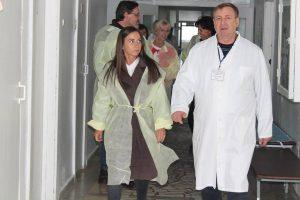 Armata Salvării în vizită la    Spitalul raional Șoldănești