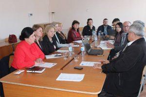 """Ședința Comitetului Director Local privind Proiectul de Servicii Publice """"Sporirea eficienţei energetice a L/T """"Alexe Mateevici"""""""