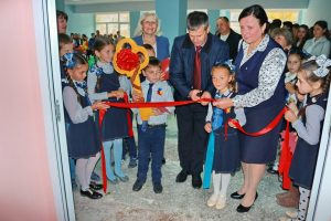 În Liceul din satul Răspopeni a fost deschisă o noua Sală de sport