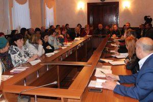 Ședință cu primarii privind realizarea activităților de interes comunitar