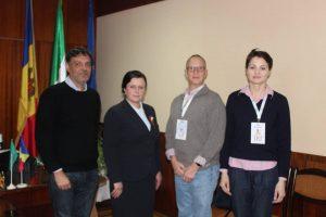 Observatori de la IRI în vizită la Preşedintele raionului Şoldăneşti