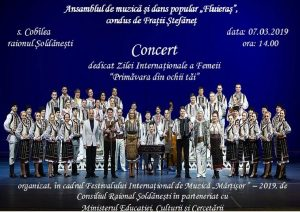 Concert spectaculos dedicat Zilei  Internaţionale a Femeii