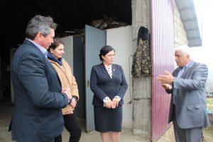 Vizita deputatului în teritoriu, satul Olişcani