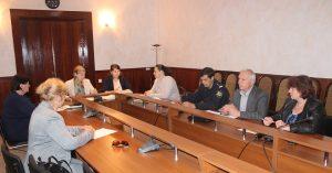 Şedinţa Comisiei Raionale pentru protecţia persoanelor aflate în situaţie de dificultate