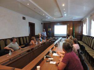 Seminar destinat specialiștilor pentru reglementarea proprietății funciare din teritoriu