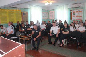Ședința de raportare a Inspectoratului de poliție Șoldănești pentru perioada semestrului I al anului 2019