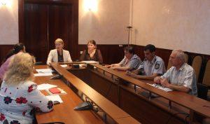 Ședința Comisiei pentru protecția persoanelor aflate în situație de dificultate