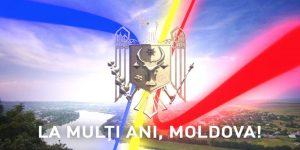"""Mesaj de felicitare a preşedintelui raionului Şoldăneşti, cu prilejul sărbătorilor naţionale """"Ziua Independenţei"""" şi """"Limba Noastră"""""""