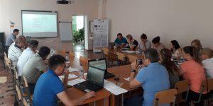 """Ședința Comitetului Director Local privind Proiectul de Servicii Publice """"Sporirea eficienţei energetice a L/T """"Alexei Mateevici"""""""