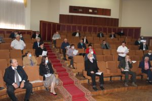 Consilierii raionali s-au întrunit în şedinţă ordinară