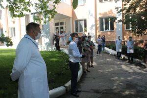 Au fost aduse omagii lucrătorilor medicali de ziua lor profesională