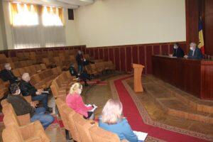 Comisia raională pentru reglementarea activității transportatorilor de călători a fost întrunită
