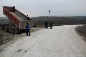 Drumul de acces spre satul Poiana a fost reparat