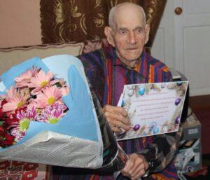 O surpriză în ajun de Revelion  pentru veteranul -Anton Solovei din satul Cușmirca