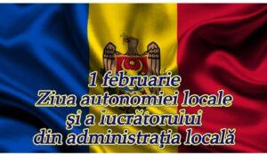 """Mesaj de felicitare  cu prilejul """"Zilei autonomiei locale și a lucrătorului din administrația publică locală"""""""