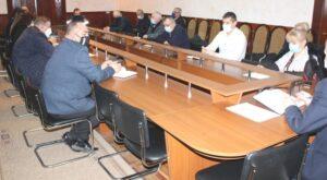 Membrii Comisiei raionale extraordinare de sănătate publică Şoldăneşti  s-au întrunit în şedinţă