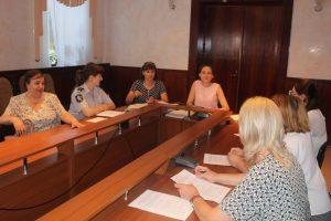 Ședința  Comisiei pentru protecția copilului aflat în dificultate