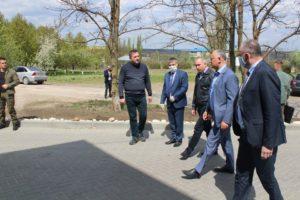 Șeful statului în vizită de lucru în raionul Șoldănești