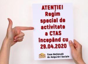 Casa Națională de Asigurări Sociale va primi cetățenii în regim special