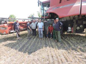 S-a dat start recoltării cerealelor!