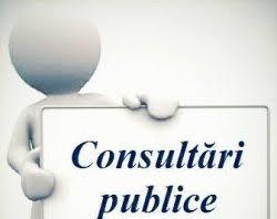 Anunț privind demararea consultărilor publice pe marginea proiectelor de decizii pentru ședința ordinară din 10.12.20