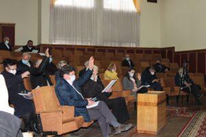 Consilierii raionali s-au întrunit în ședință ordinară