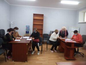 """Angajaţii din cadrul Serviciului social """"Asistenţă personală"""" au participat la o sesiune de instruire"""