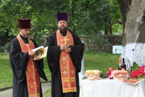 Domnitorul Ștefan cel Mare și Sfînt a fost comemorat la umbra steajarului secular de la Cobâlea
