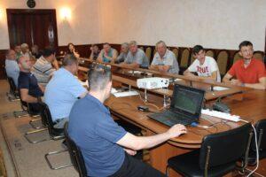 Federaţia Naţională de Fotbal a organizat un seminar de instruire pentru specialiştii din teritoriu