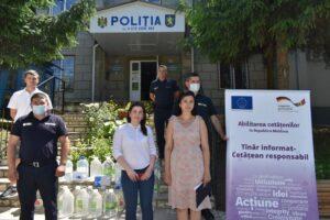 """Asociaţia pentru Drepturile Omului """"Lex XXI"""" a venit cu donaţii la mai multe instituţii publice din raion"""