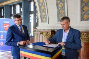 Conducerea raionului Șoldănești în vizită la Forumul Cultural Transfrontalier din Iași
