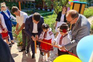 """Grădinița-creșă """"Albinuța"""" din satul Răspopeni a fost renovată prin contribuția comună a autorității publice locale și a Guvernului României"""