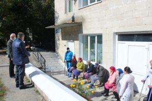 Beneficiarii Azilului din oraşul Şoldăneşti au fost omagiaţi cu prilejul Zilei Internaţionale a  Persoanelor în etate